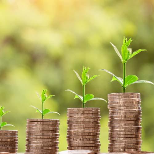 Nachhaltige Kapitalanlagen, wie Nachhaltigkeitsfonds oder Ethikfonds eignen sich zum langfristigen Sparen.